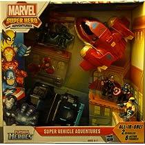 Marvel Super Hero Adventures Playskool Heroes Super Vehicle Adventures