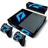 AXDNH Adhesivo De Piel para Xbox One - Funda con Pegatinas De PVC para Consola Xbox One Y 2 Mandos + Kinect - Juego Completo De Biseles, Protectores Y Máscaras,2053
