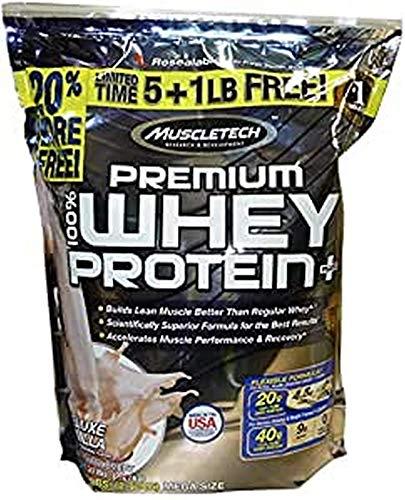 Muscletech Premium 100% Deluxe Vaniglia Proteine Del Siero Di Latte Plus Polvere - 2720 g
