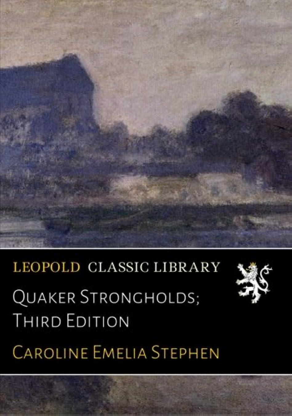 意味のある強風パズルQuaker Strongholds; Third Edition