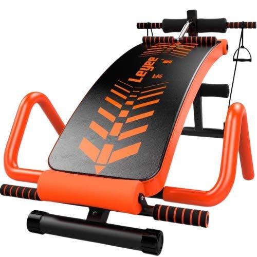Verstelbare schuine bank gebogen zitbank full-body gymnastiek speed  bal pull touwen voor oefening buikuitrusting inklapbare kickbank