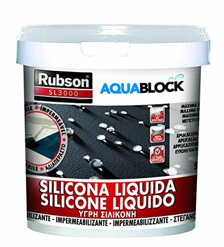 Henkel - Guaina Silicone Liquido Bianco Kg. 5 Rubson