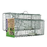 Defenders Animal Trap <span class='highlight'>Cage</span> (Easy to Set Humane Trap for Rabbits, <span class='highlight'>Cat</span>s and Similar Sized Wildlife)