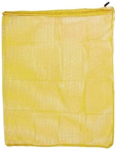 Genuine Free Shipping Mesh Drawstring Yellow Bag 24 by Max 59% OFF 36 in