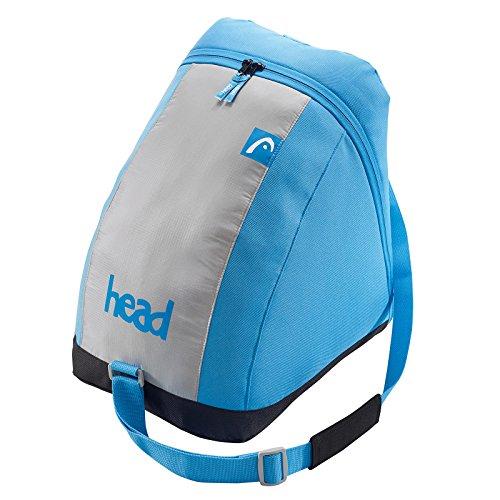 Head Freeride Skibag Esquí de Mochila, 185cm, 65L, Gris/Oange, Color Gris, Azul,...