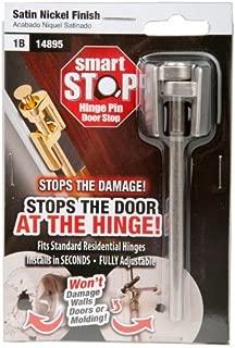 Smart Stop Hinge Pin Door Stop, Satin Nickel