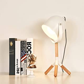 Lampe de table Lampe moderne, nordique, minimaliste, lampe de bureau à LED industriel, lumière nocturne à LED avec corps d...