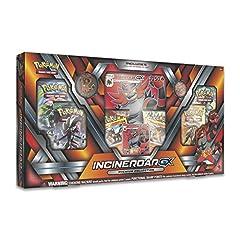1 full-art foil promo card featuring Incineroar-GX 1 foil promo card featuring Torracat 1 foil promo card featuring Latten 6 Pokémon TCG booster packs to expand your collect 1 foil oversize Incineroar-GX card