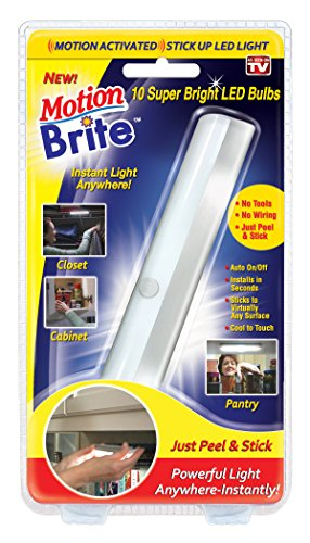 Motion Brite, 1 Count (Pack of 1), Silver