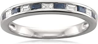Best sapphire baguette band ring Reviews