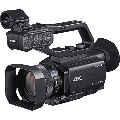 Sony HXR-NX80 4K HD NXCAM Camcorder (Renewed)