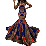 iooiooi Strapless Sexy Floor-Length Dresses...
