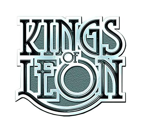 Kings of Leon Scroll band Logo Nue offiziell Metal Pin badge