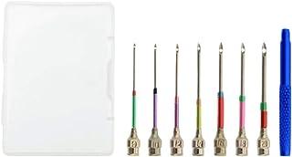 Exceart 1 conjunto de canetas de bordado kit de ferramentas mágicas bordadas para substituição feita à mão, perfuração de ...