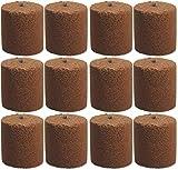 12x Holzspäne Brennelemente für Gartenfackel Feuerschale Feuersäule 8,5cm