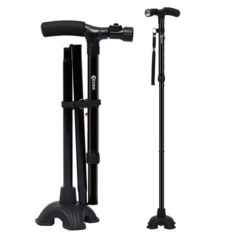 Walking Standing Folding Lightweight Adjustable