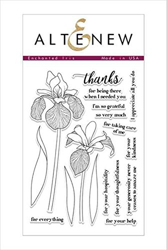 Altenew Clear Stamps, Enchanted Iris