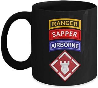 20th EN BDE Coffee Mug Airborne Engineer Brigade Ranger Sapper Army Coffee Mug