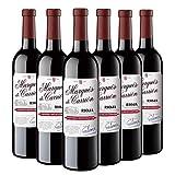 Marqués de Carrión Vendimia Seleccionada - Vino Tinto D.O. Rioja - Caja de 6 Botellas x 750 ml