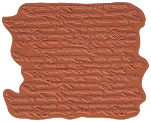 IndigoBlu Cling Mounted Stamp, 7 by 4.75-Inch, Script Background Background Mounted Rubber Stamp