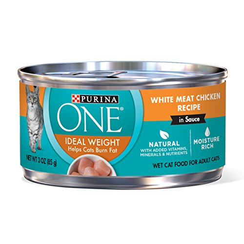 Purina ONE Natural Weight Control Wet Cat Food,...