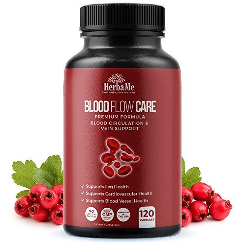 HerbaMe Blood Circulation Supplement, 120...