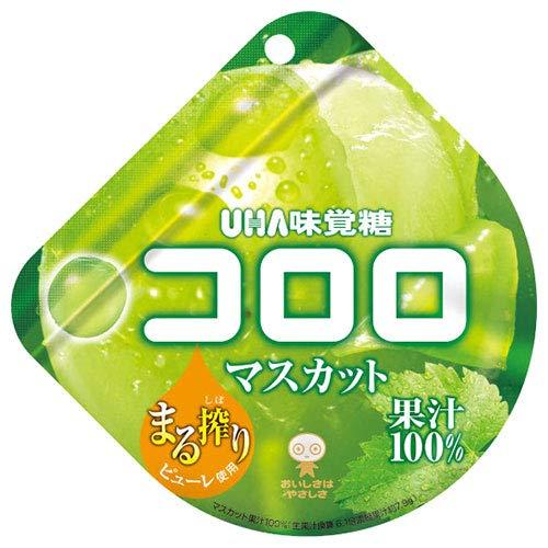 UHA味覚糖 コロロ マスカット 48g×6袋入×(2ケース)