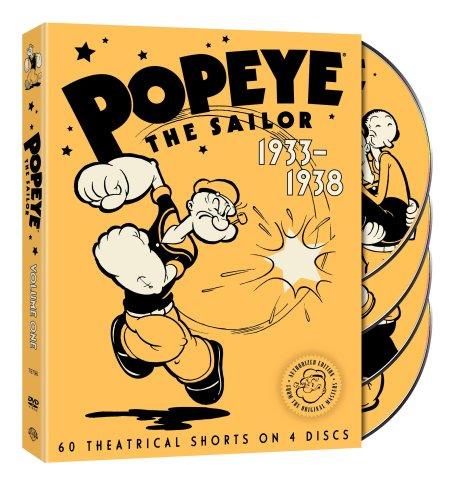 the Sailor: 1933-1938 (4 DVDs) [RC 1]