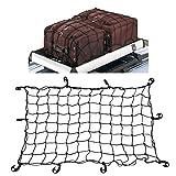 homelikesport Autonetz Anhängernetz Gepäcknetz Universal Kofferraumnetz Schutznetz mit 12 Haken