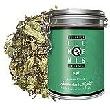 'Marrakesh Nights' Té Verde Orgánico sabor Mentha Piperita, Lata A Granel 100 Gramos - alveus Premium Teas