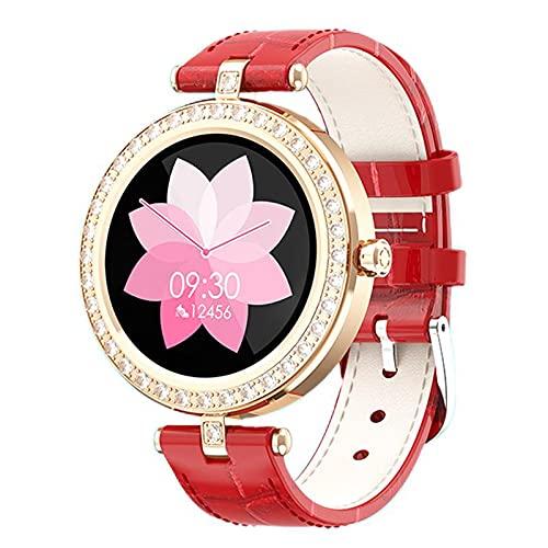 Pulsera Inteligente Mujeres Bluetooth Podómetro Moda Deportes Señoras Reloj Negocio Recordatorio Frecuencia Cardíaca Oxígeno Sangre Presión Arterial