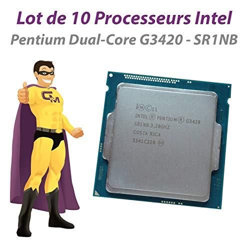 Intel CPU Pentium G3420 3,2 GHz SR1NB 3 MB FCLGA1150 Dual Core 10 Stück