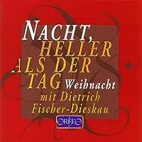 クリスマスと新年の歌 ( Gryphius (T); Goethe (T); Heine (T); Morike (T); Storm (T); Tucholsky (T); etc.;Carulli (M); Schumann (M); Mangore (M): Nacht, heller als der Tag, Weihnachtliche Texte und Musik aus vier Jahr-hunderten)