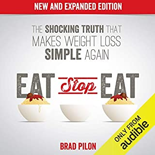 Eat Stop Eat audiobook cover art