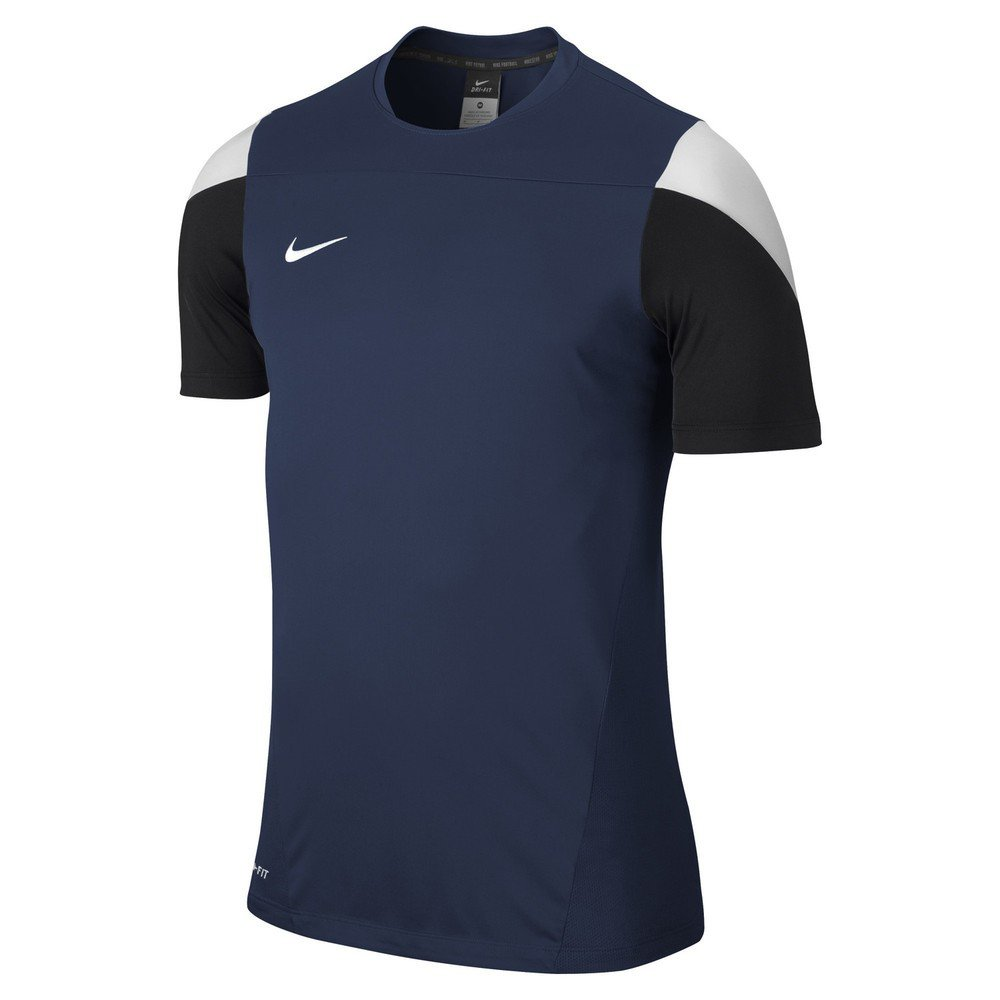 Nike Herren Shirt Kurzarm Squad 14 Training Top, Midnight Navy/White/Black, XXL
