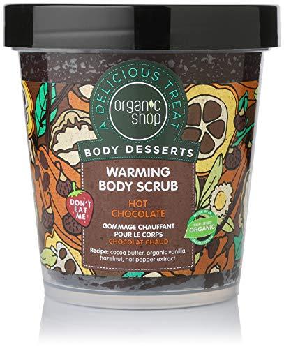 Organic Shop Body Desserts Caldo Cioccolato Caldo Scrub Corpo 450 ml