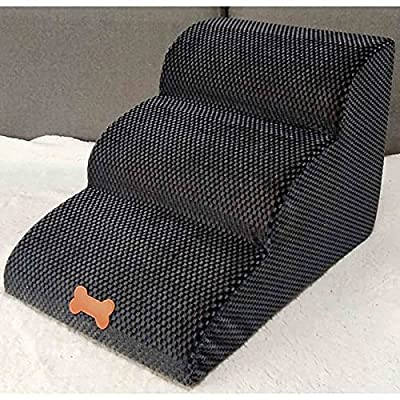 Amazon - Save 80%: 2021 Stairs Ladder Pet Stairs Step Sofa Bed Ladder Dog Access Steps Bed, Fo…