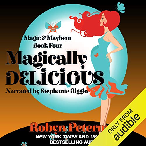 Magically Delicious audiobook cover art