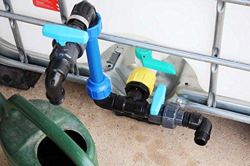 PROFI IBC szyjka typu łabędzia szyja DN50 S60x6 z 2x zaworami + 2x stacjami paliwa