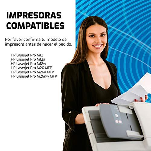 QP79A Cartucho de Toner Compatible con HP CF279A y impresoras HP Laserjet Pro M12 M12a M12w, HP Laserjet Pro MFP M26 M26a M26nw Impresora