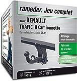 Rameder Attelage rotule démontable pour Renault TRAFIC III Camionnette + Faisceau 13...
