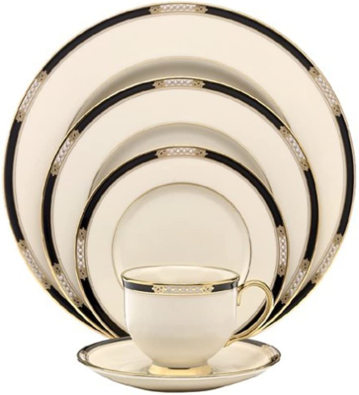 Lenox Hancock Fine China 5 Piece Place Setting Service For 1