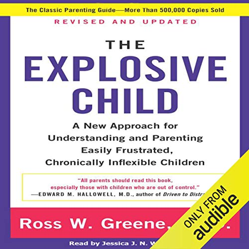Page de couverture de The Explosive Child