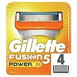 Gillette Fusion Power - Recambios de maquinilla de afeitar para hombre - 4 unidades