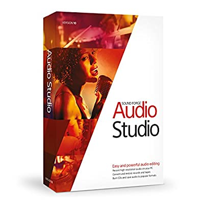 Sony Sound Forge Audio Studio 10 from Sony Creative Software