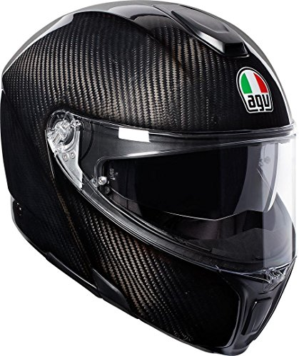 AGV Sports Modulaire en Carbone Brillant M