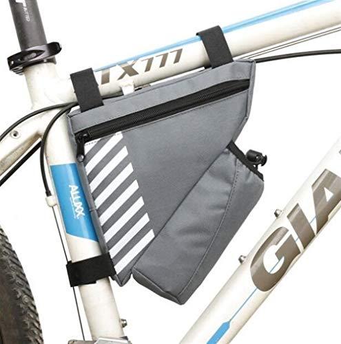 Bolsa de cuadro de bicicleta Impermeable del tubo del armazón delantero de la bici bolso de la bicicleta bolsa de ciclo al aire libre teléfonos de la tarjeta Teclas Organizador con la botella de agua