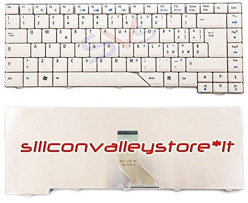 Siliconvalleystore Tastiera Italiana Bianca - per Acer Aspire 5720Z, 5720ZG, 5920, 5920-1A2G16Mi