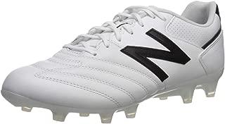 New Balance Men's 442 Team V1 Classic Soccer Shoe, White/Black, 11 D US