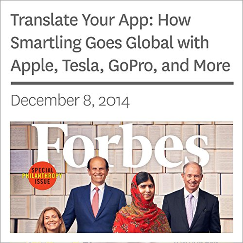 Translate Your App: How Smartling Goes Global with Apple, Tesla, GoPro, and More audiobook cover art